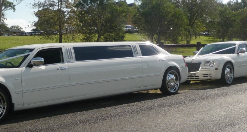 Sydney Airport Limousines and Luggage Trailer