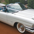 cadillac convertible wedding car